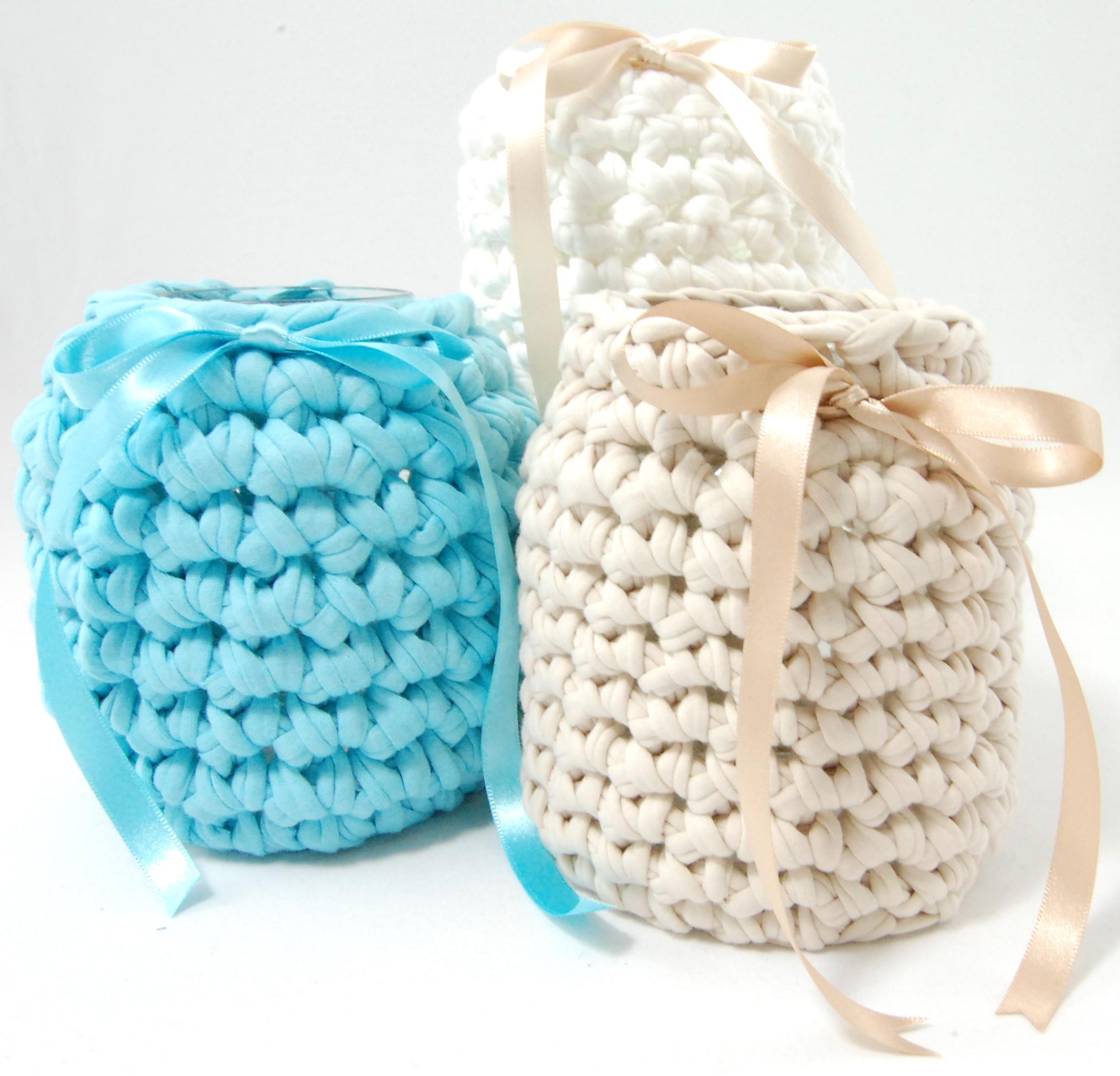 Crochet Jar