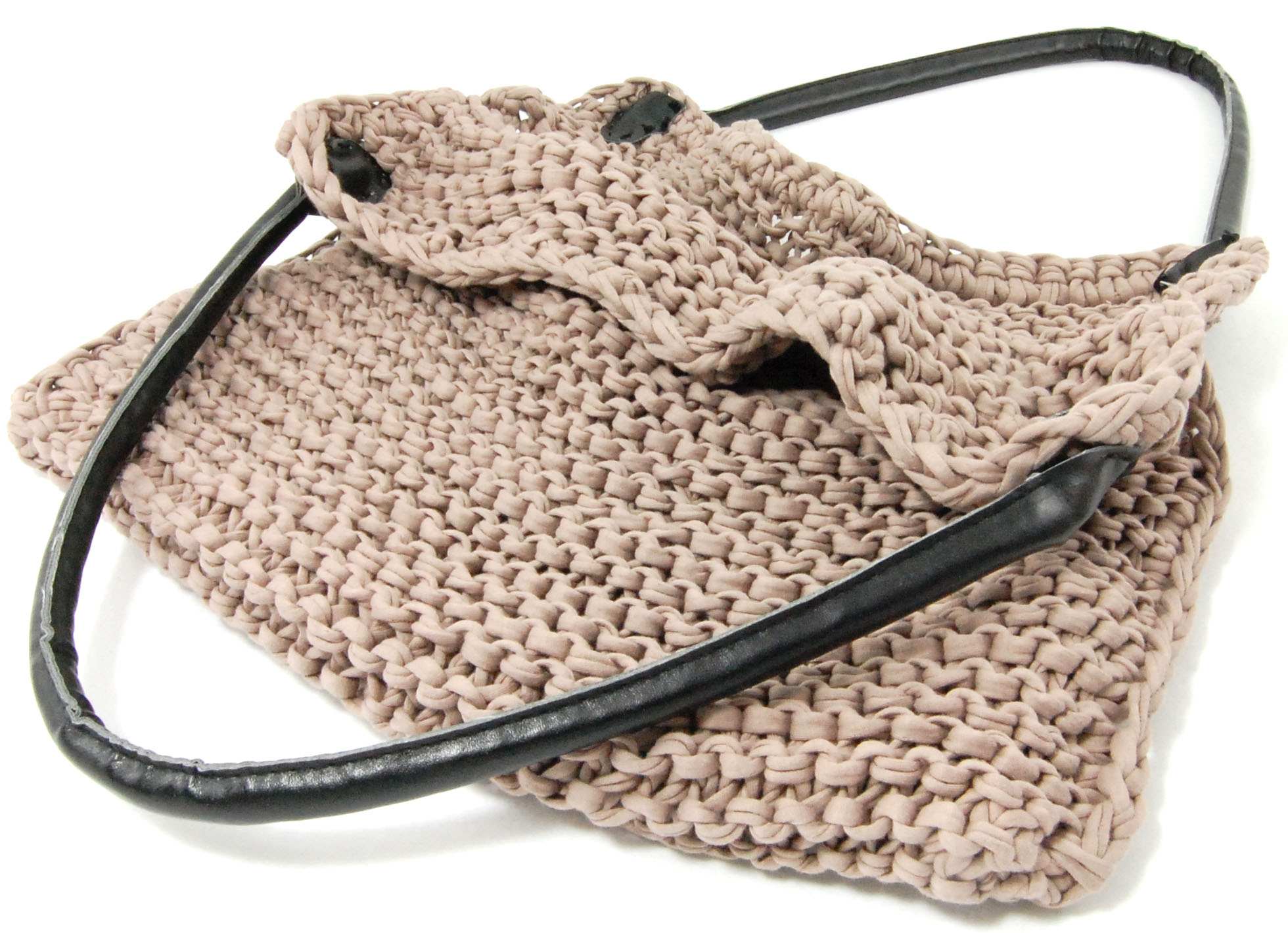 Knitted bag tutorial | LVLY