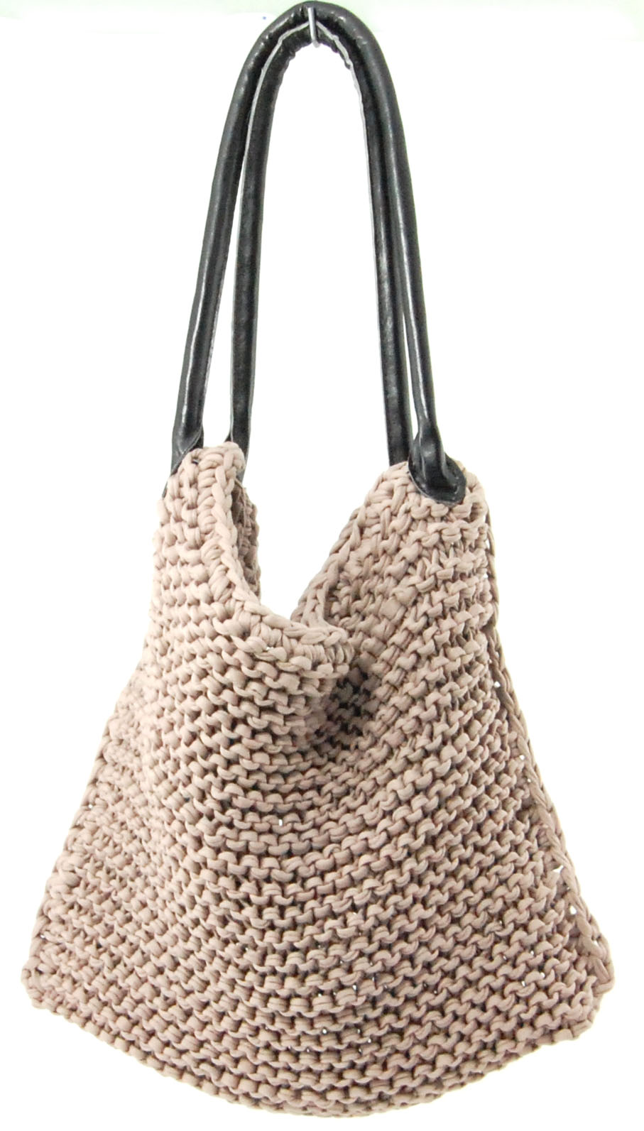 Woolen Crochet Purse : Knitted bag tutorial