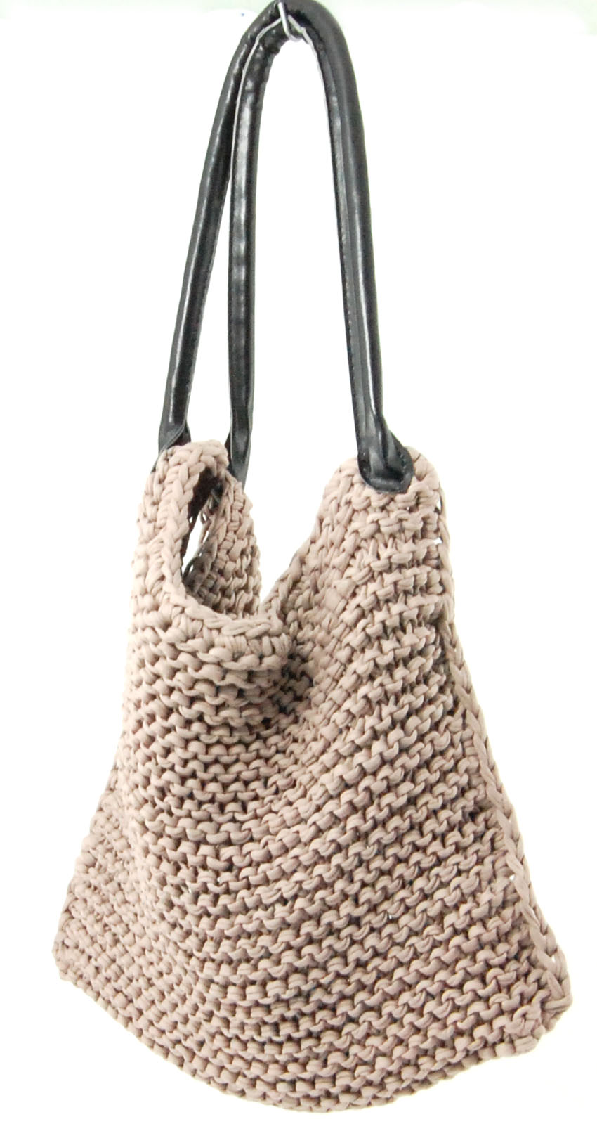 Knitted bag tutorial LVLY