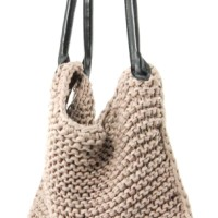 Knitted bag tutorial