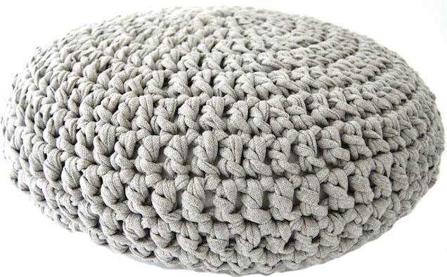 Crochet Pouf Pattern Lvly