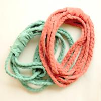 t-shirt yarn necklace