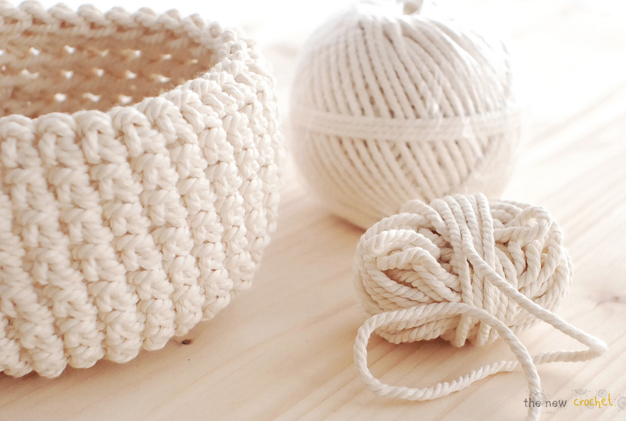 T shirt yarn basket diy