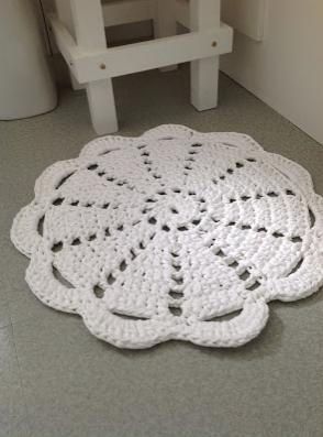 crochet doily rug free pattern