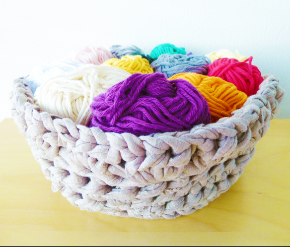 pattern crochet basket