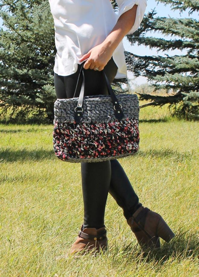 chrochet purse