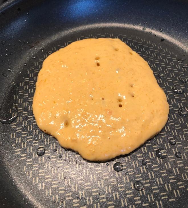 vegan pannenkoekjes met pompoen